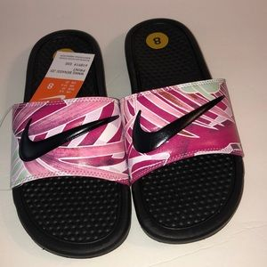 New Nike Women's Benassi JDI Print Sandals